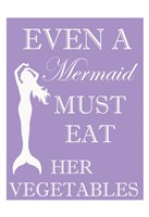 Mermaid Must Eat Fine-Art Print