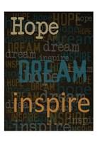 Hope Dream Inspire Fine-Art Print