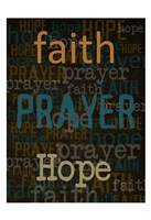 Faith Prayer Hope Fine-Art Print