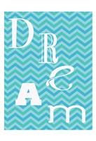 Aqua Dance Framed Print