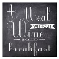 A Meal Without Fine-Art Print