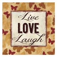 Live Love Laugh 2 Fine-Art Print