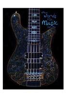 Neon Bass 1 Fine-Art Print