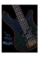 Neon Bass 2 Fine-Art Print