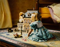 The Doll House Fine-Art Print