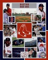 Boston Red Sox 2015 Team Composite Fine-Art Print
