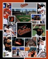 Baltimore Orioles 2015 Team Composite Fine-Art Print