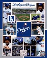 Los Angeles Dodgers 2015 Team Composite Fine-Art Print