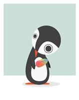 Pingu Loves Ice Cream Fine-Art Print
