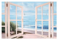 Sandpiper Beach Door Fine-Art Print