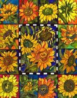 Sunflower Mania Fine-Art Print