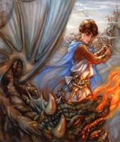 Dragon Fighter Fine-Art Print