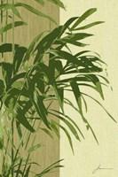 Painted Contrast Leaves I Fine-Art Print