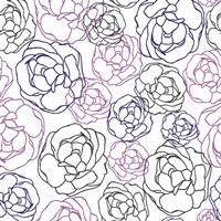 Cottage Rose Garden I Fine-Art Print