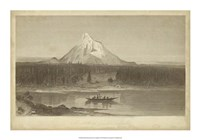 Mount Hood from Columbia Fine-Art Print
