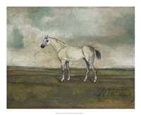 A Grey Hunter in a Landscape Fine-Art Print