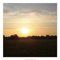 Sunset Field I Fine-Art Print