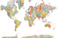 World Map 1 Fine-Art Print