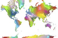 World Map 2 Fine-Art Print