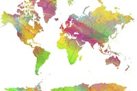 World Map 9 Fine-Art Print