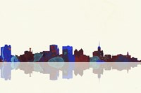 Buffalo New York Skyline 1 Fine-Art Print
