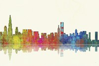 Chicago Illinios Skyline 1 Fine-Art Print