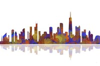 Chicago Illinois Skyline 2 Fine-Art Print