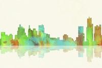 Detroit Michigan Skyline 1 Fine-Art Print