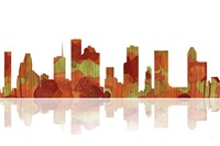 Houston Texas Skyline 1 Fine-Art Print