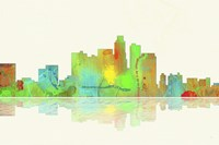 Los Angeles California Skyline 1 Fine-Art Print