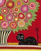 Feline Florist 1 Fine-Art Print