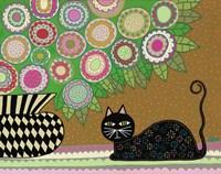 Feline Florist 2 Fine-Art Print