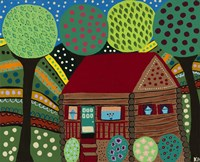 House In The Hills Fine-Art Print