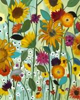 Sunflower House Fine-Art Print