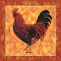 Rooster 4 Fine-Art Print