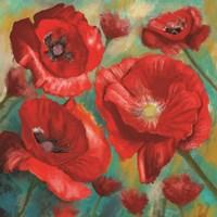 Red Poppies Bloom of Joy Fine-Art Print