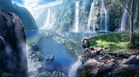 Waterfall Paradise Fine-Art Print