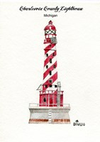 Charlevoix County Lighthouse, MI Fine-Art Print