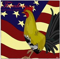 Rooster Freedom Fine-Art Print