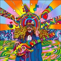 Hippie Musician Fine-Art Print