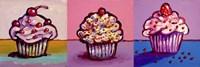 3 Cupcakes Fine-Art Print