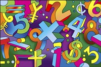 Math Mural Fine-Art Print