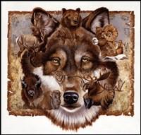 Wolf's World Fine-Art Print