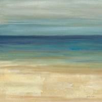 Navy Blue Horizons I Fine-Art Print
