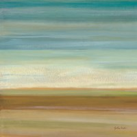 Turquoise Horizons I Fine-Art Print