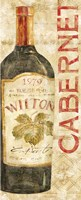 Wine Stucco II Fine-Art Print