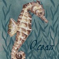 Nautical Critters I Fine-Art Print