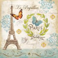 Le Papillon Paris I Fine-Art Print