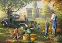 Little Farmers Market Fine-Art Print