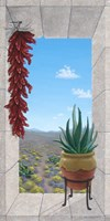 Aloe and Chilis I Fine-Art Print